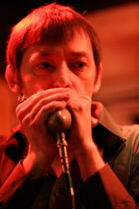 Pete on Harp